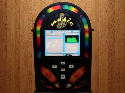 Jukebox aparat tvrtke ELZEB d.o.o. s našim programom